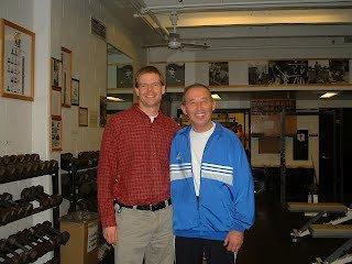 Chris Morland and Steve Javorek